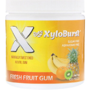 Xyloburst Xylitol Chewing Gum Fresh Fruit 5.29 oz (150 g) 100 Pieces