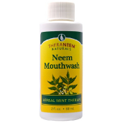 Organix South TheraNeem Naturals Herbal Mint Therapé Neem Mouthwash 2 fl oz (60 ml)