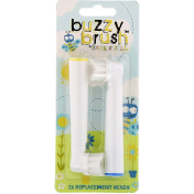 Jack n' Jill Buzzy Brush 2x Replacement Heads
