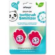 Dr. Tung's Kid's Snap-On Toothbrush Sanitizer 2 Toothbrush Sanitizers
