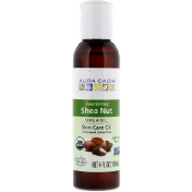 Aura Cacia Organic Skin Care Oil Shea Nut 4 fl oz (118 ml)