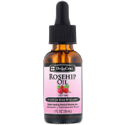 De La Cruz Rosehip Oil 100% Pure Rejuvenating Facial Moisturizer 1 fl oz (30 ml)