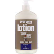 EO Products Everyone Lotion 3 in 1 Lavender + Aloe 32 fl oz (946 ml)