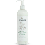 Puracy Organic Hand & Body Lotion Fragrance Free 12 fl oz (355 ml)