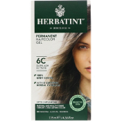 Herbatint Permanent Haircolor Gel 6C Dark Ash Blonde 4.56 fl oz (135 ml)