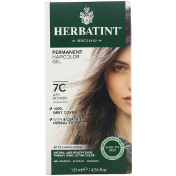 Herbatint Permanent Haircolor Gel 7C Ash Blonde 4.56 fl oz (135 ml)