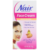 Nair Hair Remover Moisturizing Face Cream 2 oz (57 g)