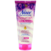 Nair Hair Remover Cream Nourish Skin Renewal With Grape Seed Oil For Legs & Body 7.9 oz (224 g)
