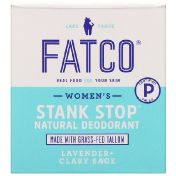 Fatco Stank Stop Natural Deodorant Women's Lavender + Clary Sage 1 fl oz (29 ml)