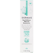 Derma E Sun Defense Mineral Sunscreen SPF 30 4 oz (113 g)