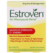 Estroven Menopause Relief Maximum Strength + Energy 28 Caplets