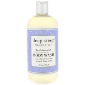 Deep Steep Body Wash Fresh Lavender 17 fl oz (503 ml)
