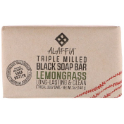 Alaffia Triple Milled Soap Bar Lemongrass 5 oz (140 g)