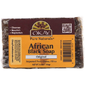 Okay African Black Soap Original 5.5 oz (156 g)