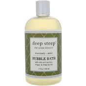 Deep Steep Bubble Bath Rosemary - Mint 17 fl oz (503 ml)