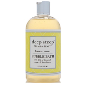 Deep Steep Bubble Bath Lemon Cream 17 fl oz (503 ml)