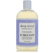 Deep Steep Bubble Bath Fresh Lavender 17 fl oz (503 ml)