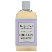 Deep Steep Bubble Bath Lavender Vanilla 17 fl oz (503 ml)