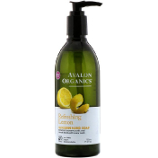 Avalon Organics Glycerin Hand Soap Refreshing Lemon 12 fl oz (355 ml)