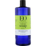 EO Products Hand Soap Refill Peppermint & Tea Tree Sulfate-Free 32 fl oz (946 ml)