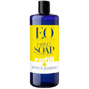 EO Products Hand Soap Refill Lemon & Eucalyptus 32 fl oz (946 ml)