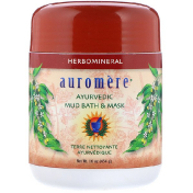 Auromere Ayurvedic Mud Bath & Mask 16 oz (454 g)