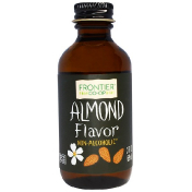 Frontier Natural Products Almond Flavor Alcohol-Free 2 fl oz (59 ml)