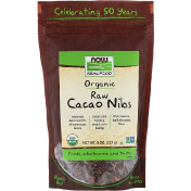 Now Foods Organic Raw Cacao Nibs 8 oz (227 g)