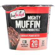 FlapJacked Mighty Muffin с пробиотиками со вкусом шоколадного арахисового масла (55 г)