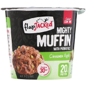 FlapJacked Mighty Muffin with Probiotics Cinnamon Apple 1.94 oz (55 g) (Discontinued Item)
