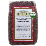 Bergin Fruit and Nut Company Organic Red Kidney Beans 16 oz (454 g) (Discontinued Item)