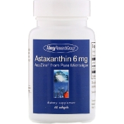 Allergy Research Group Astaxanthin 6 mg 60 Softgels