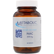 Metabolic Maintenance NAC 600 мг 60 капсул