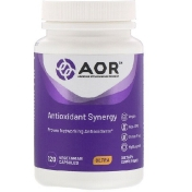 Advanced Orthomolecular Research AOR Antioxidant Synergy 120 Vegetarian Capsules