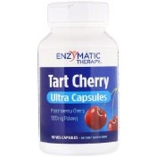 Enzymatic Therapy Tart Cherry Ultra Capsules 1 200 mg 90 Veg Capsules