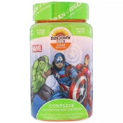 Sundown Naturals Kids Complete Multivitamin Gummies Marvel Avengers Natural Grape Orange & Cherry Flavors 60 Gummies