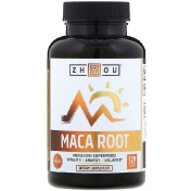 Zhou Nutrition Organic Maca Root 120 Vegetable Capsules