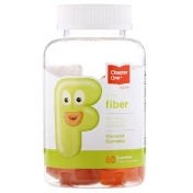 Chapter One F Is For Fiber Flavored Gummies 60 Gummies