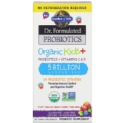 Garden of Life Dr. Formulated Probiotics Organic Kids + Tasty Organic Berry Cherry 30 Yummy Chewables