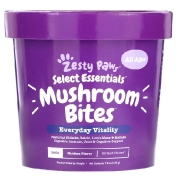 Zesty Paws Mushroom Bites for Dogs Everyday Vitality All Ages Chicken Flavor 90 Soft Chews