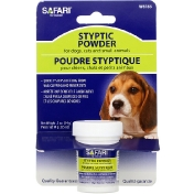 Safari Styptic Powder for Dogs Cats and Small Animals .5 oz (14 g)