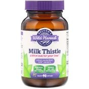 Oregon's Wild Harvest Milk Thistle 90 Gelatin Capsules