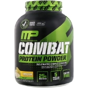 MusclePharm Combat Powder Advanced Time Release Protein Banana Cream 4 lbs (1814 g)