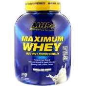 MHP Maximum Whey Vanilla Ice Cream 5 lbs (2270 g)