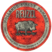 Reuzel Red Pomade Water Soluble Medium Hold 4 oz (113 g)