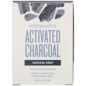 Schmidt's Naturals Natural Soap for Face & Body Activated Charcoal 5 oz (142 g)
