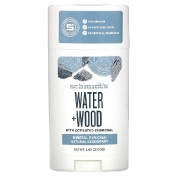 Schmidt's Naturals Natural Deodorant Water + Wood with Charcoal 2.65 oz (75 g)