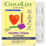 ChildLife Healthy Vision SoftMelts Natural Berry Flavor 27 Tablets