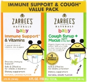 Zarbee's Baby Immune Support & Cough Syrup Value Pack 2 fl oz (59 ml) Each
