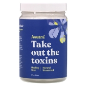 Asutra Take Out The Toxins Healing Clay Natural Unscented 32 oz